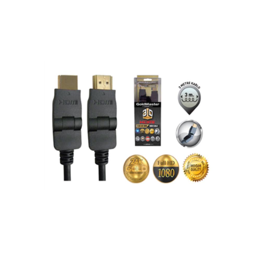 CAB-165 HDMI 180 Derece Dönebilir