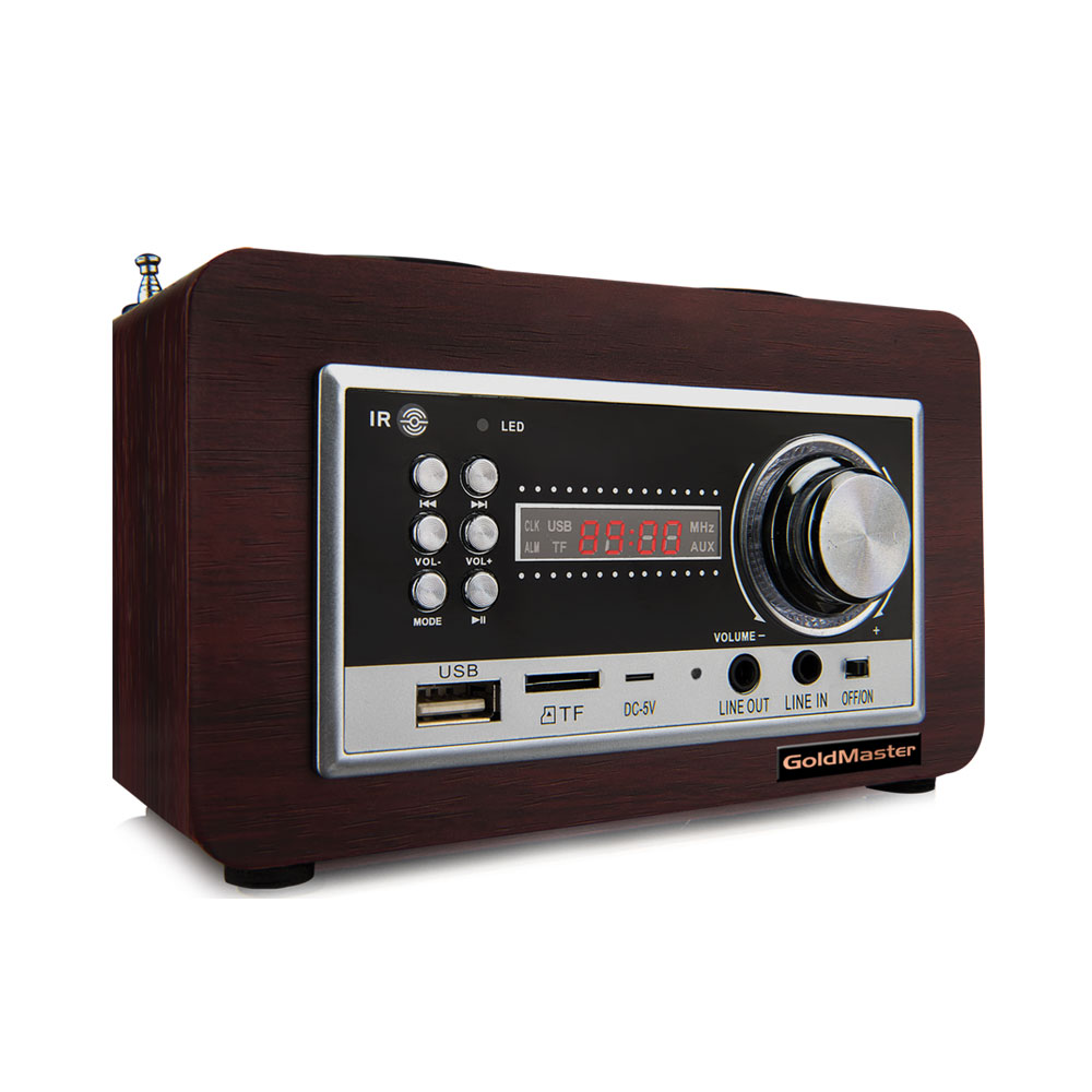 GoldMaster SR-122 BT Radyo