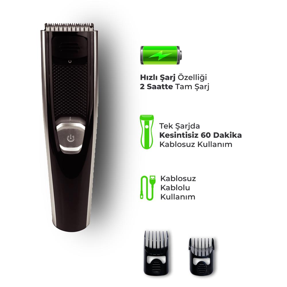 Fiyaka Şarjlı Saç Kesme Makinesi
