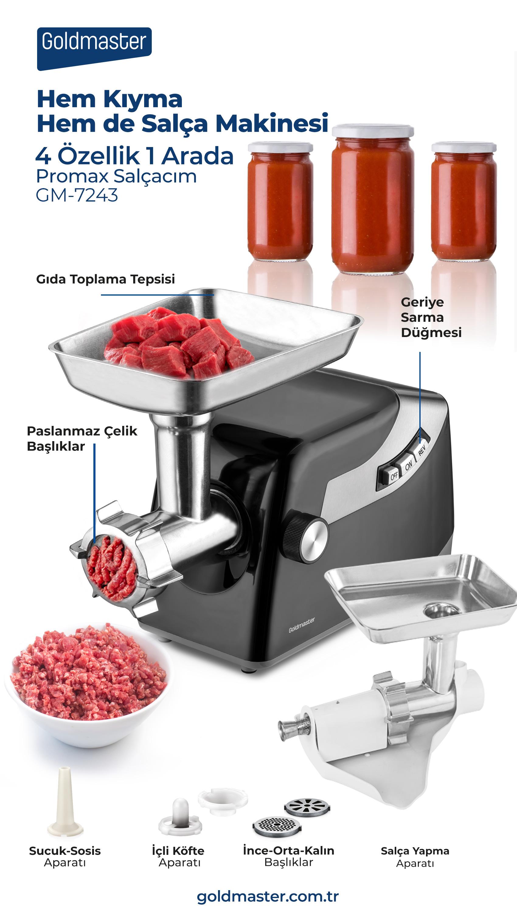 Promax Kıyma Makinesi