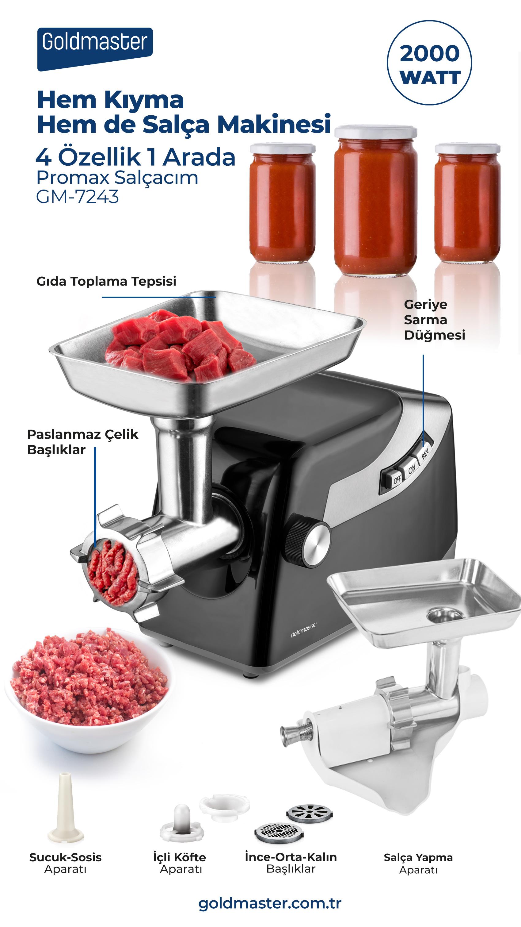 Promax  Kıyma Ve Salça Makinesi